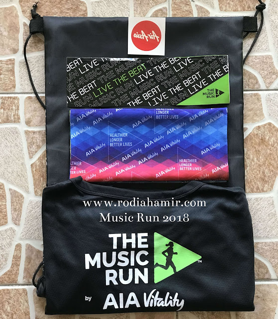 The Music Run AiA Vitality 2018 sponsored by Air Asia