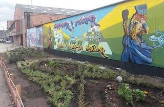 Graffiti y Recuperación ambiental en Bosa