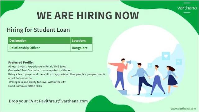 Hiring For Varthana Finance Pvt. Ltd.