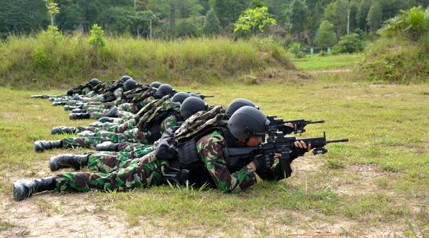 Pasukan Pemukul Reaksi Cepat (PPRC) TNI