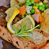 Easy And Quick Homemade  Salmon recipe  with Lemon Butter Sauce