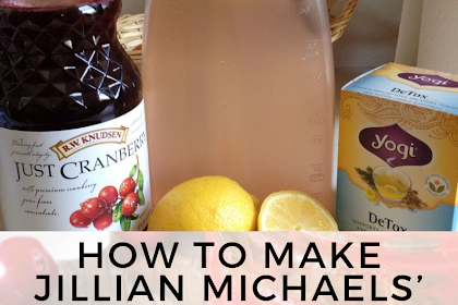HOW TO MAKE JILLIAN MICHAELS' DETOX WATER