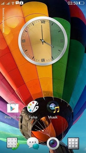 Homescreen Color OS A7S