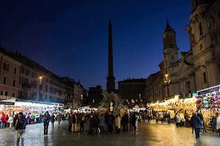 feirinha - Feirinha de Natal na Piazza Navona!