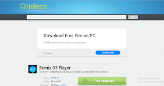 Remix OS Player is also a emulator like Gameloop(Tencent Gaming Buddy).