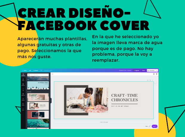 portada, facebook, tutorial, canva, diseño, gratis