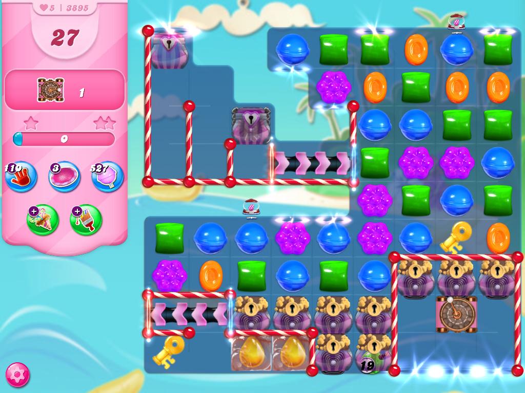 Candy Crush Saga level 3895