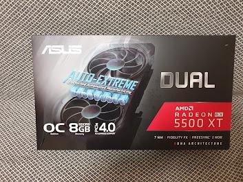 ASUS Dual Radeon RX 5500 XT EVO unboxing