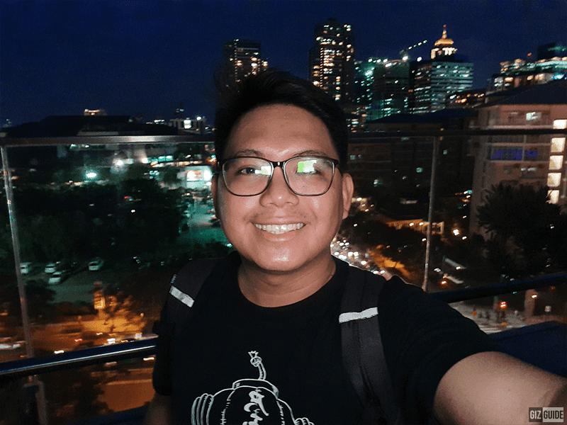 Selfie low light