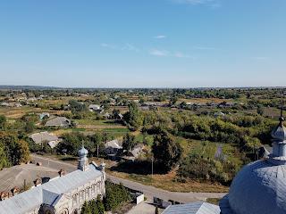 Миропілля. Вигляд з дзвінниці Свято-Миколаївської церкви