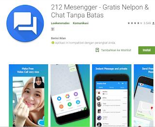 benarkah Aplikasi 212 messenger pro muslim