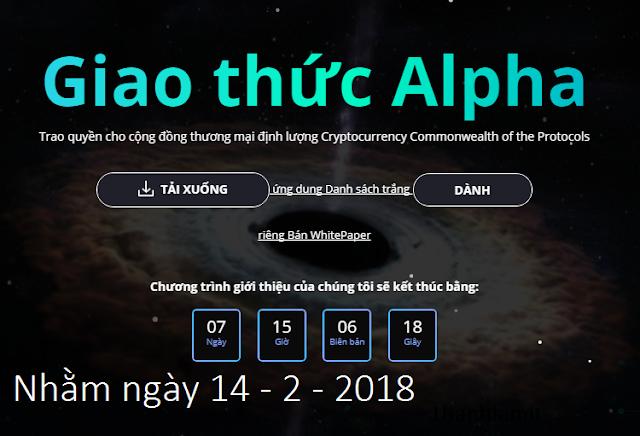 Nhận Alpha Protocol ALP Token Miễn Phí