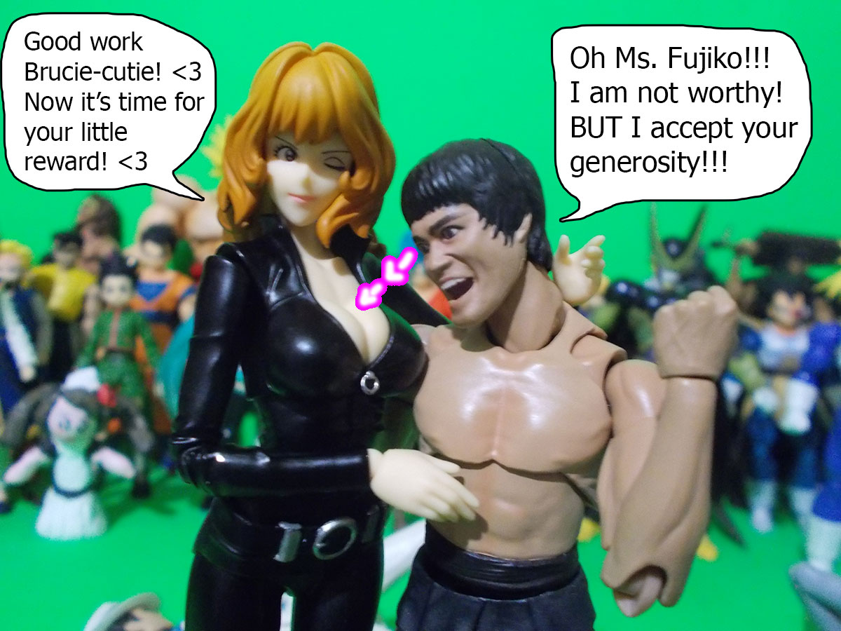 figuarts - Fujiko and the Diamond Bear 63-generosity