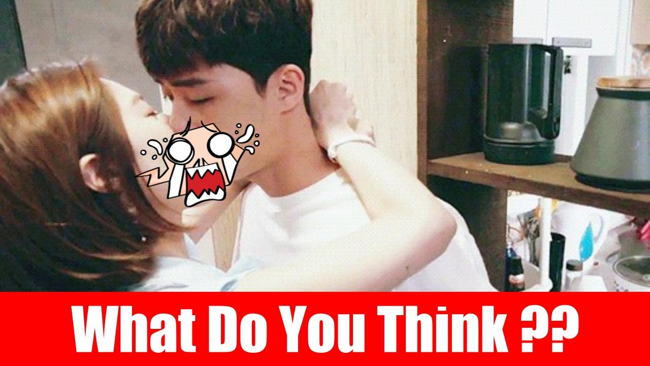 this is hot kiss scene park seo joon and lee elijah who make