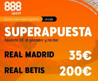 888sport superapuesta Real Madrid vs Betis 24-4-2021