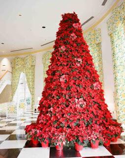 decoration rouge et or