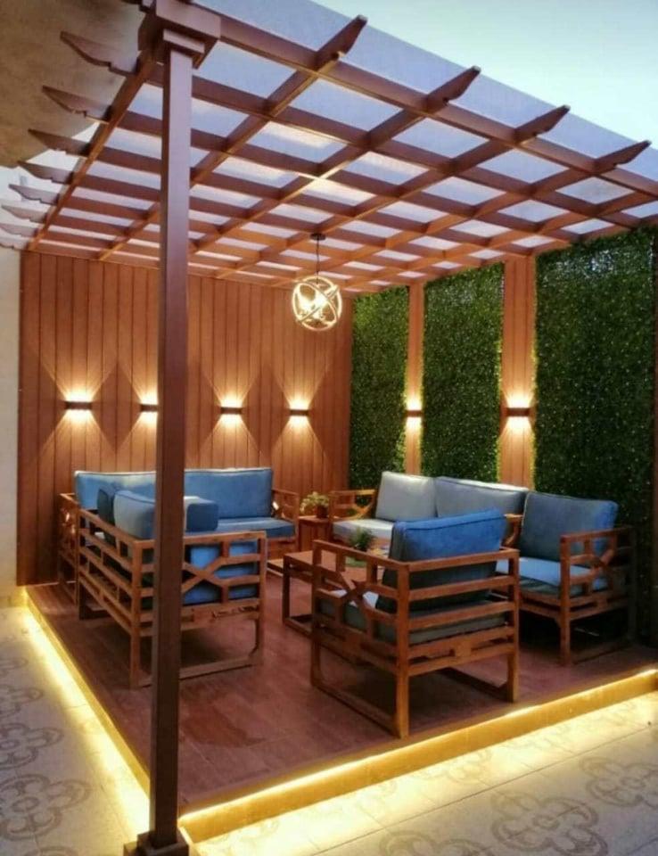 تركيب برجولات خشبية وحديد الرياض المملكة السعودية