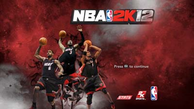 The Big Three Title Page for NBA 2K12 PC