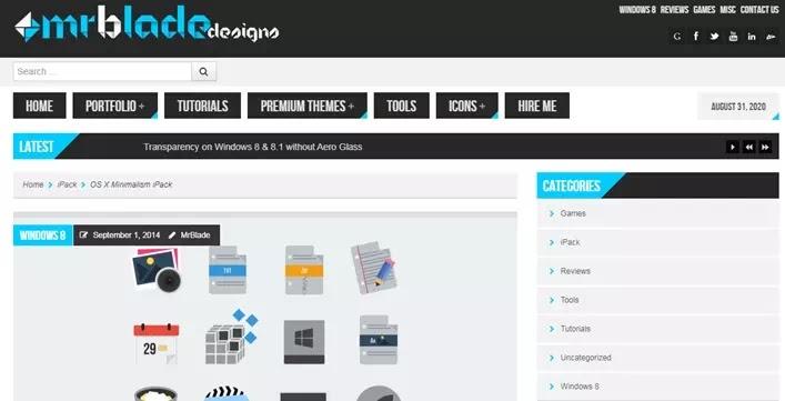 Situs Penyedia Icon Packs Gratis Untuk Windows 10-2