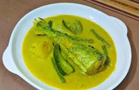 Gulai Kuning Ikan Tenggiri Kelantan