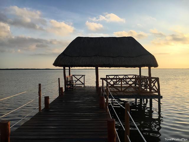 Village de pêcheur de Rio Lagartos au Mexique
