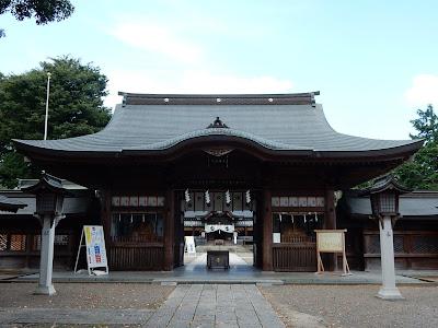 須賀神社神門