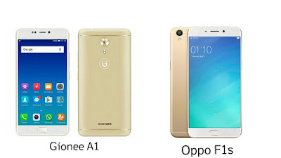 Gionee A1 vs Oppo F1s