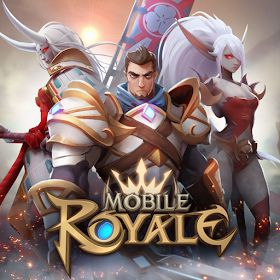 Game Mobile Royale MOD APK | Menu Mod | One Hit | God Mode