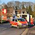 Verkehrsunfall mit 4 schwer verletzten Personen, darunter 2 Kinder