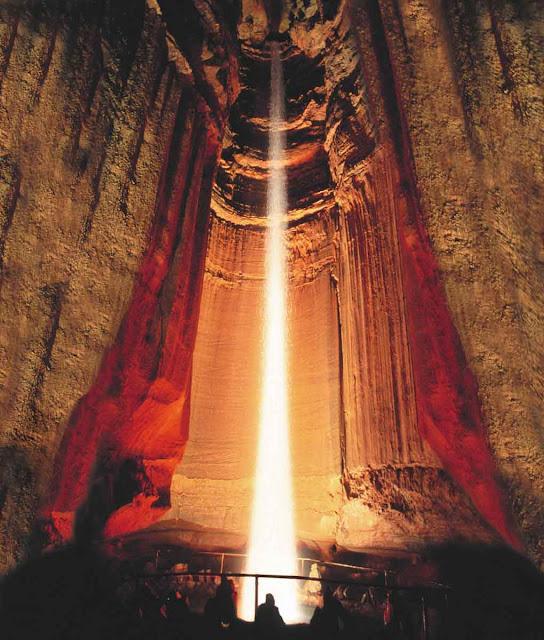 Cachoeira subterrânea Ruby – Tenesse