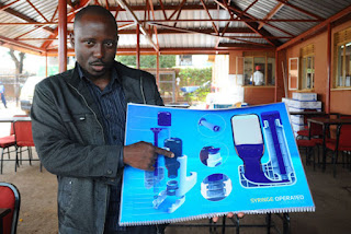 Phillip Mukoza Mpaata's Syringe Operated System (SYROPS)