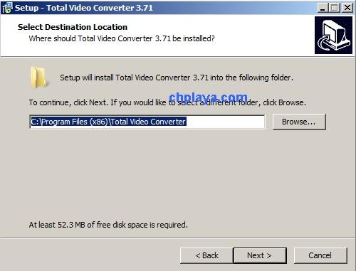 Hướng dẫn cài đặt Total Video Converter 3.71 Full Key + Active trên máy tính, laptop windows 7 d