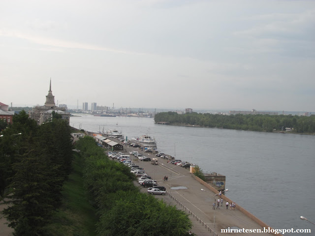 Красноярск - речной вокзал