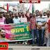 जन अधिकार पार्टी ने मनाया काला दिवस: मुंह पर पट्टी बांधकर निकाला मौन जुलूस