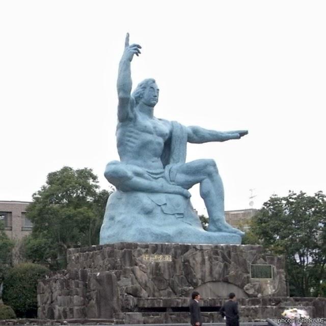 【和平公園】原子彈投到長崎的爆炸中心地 到這裡祈求世界和平