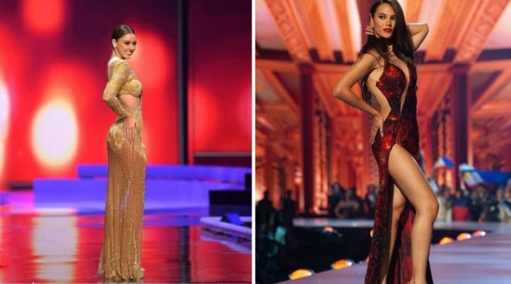 Miss Thailand copied Catriona Gray's moves