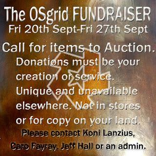 OSgrid Funderaiser