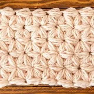 Punto Jazmin a Crochet