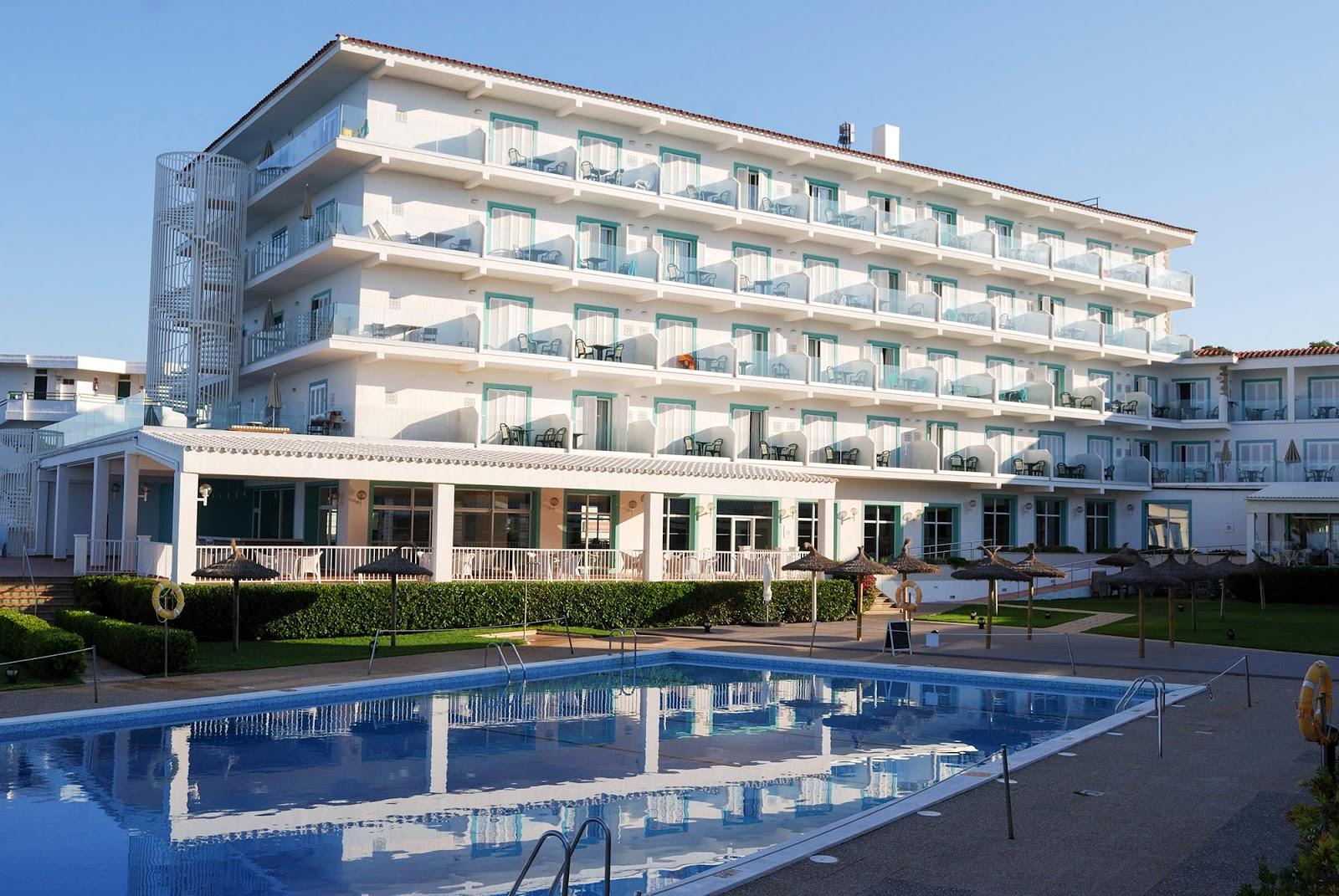 Sol Beach House Menorca Spain Melia Hotel rooms sea view swimming pool