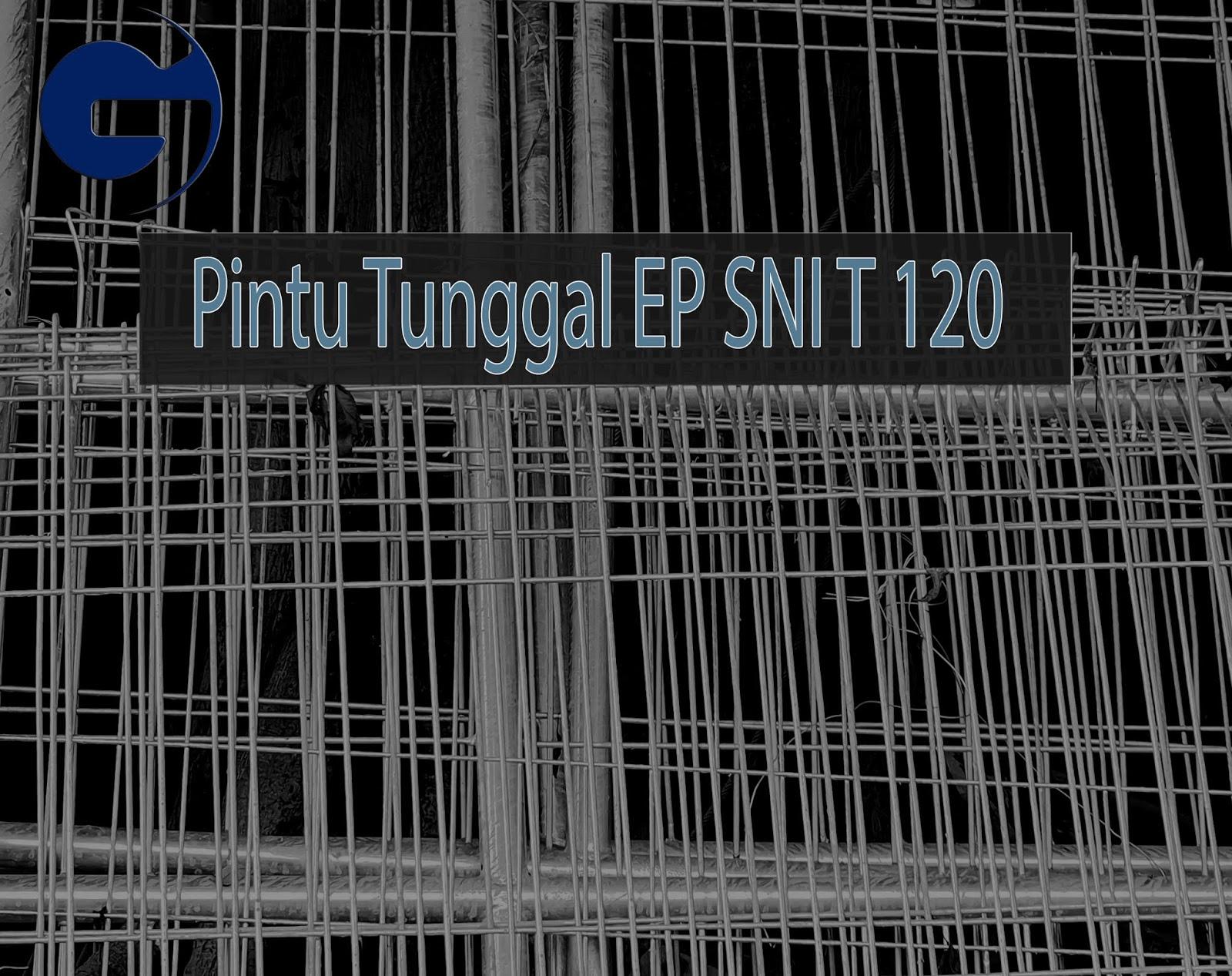 Jual Pintu Tunggal EP SNI T 122 x L 90 CM