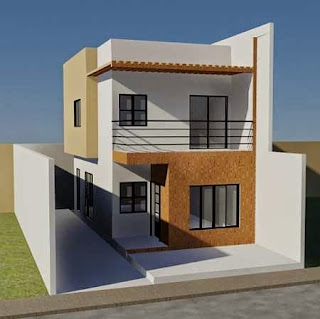 Getting the ideas of simple two storey house design with for Simple two story house design