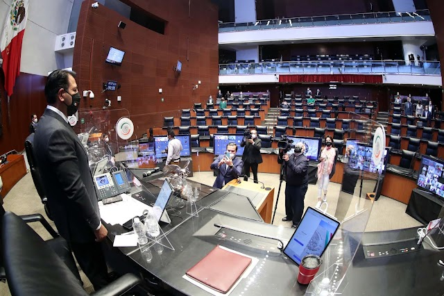 Nombran en el Senado a nuevos integrantes de la Comisión Permanente