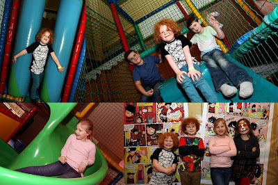 inside the soft play area review at Brewers Fayre, Stable Gate, Denton.