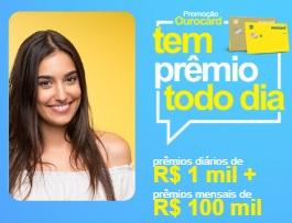 Promoção Ourocard Prêmios Mil Reais Todos Dias