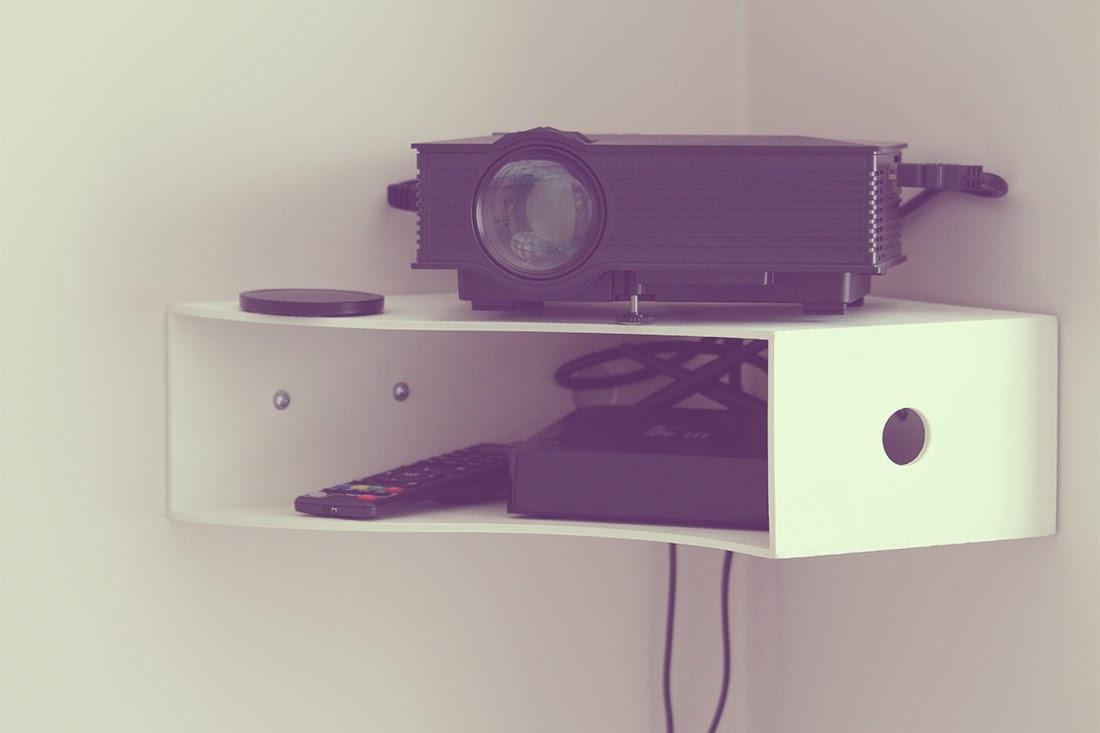 DIY Estante esquinero con archivador