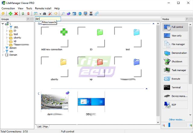 Software Remote Desktop LiteManager