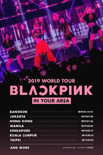 BLACKPINK Umumkan Akan Konser di Indonesia!