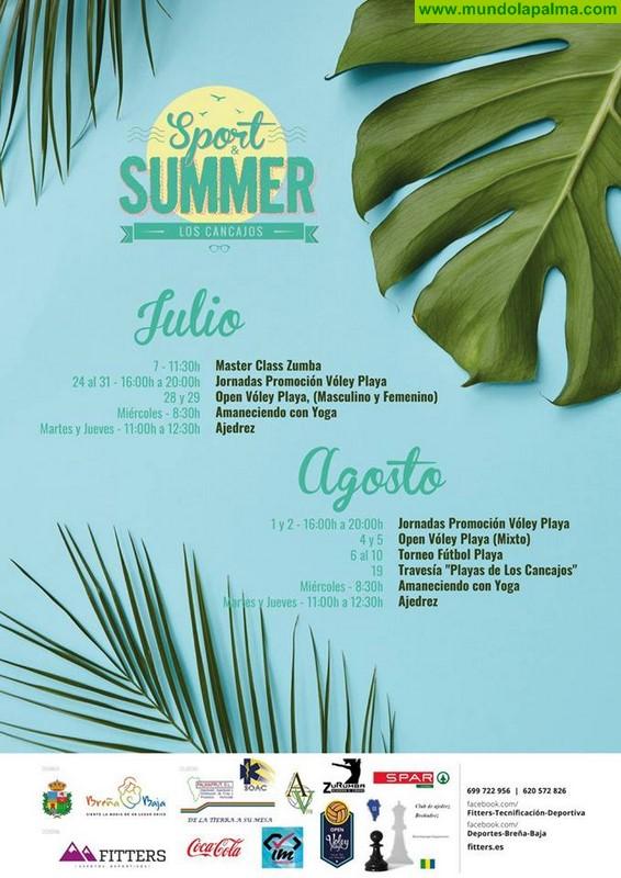 LOS CANCAJOS: Programa Sport & Summer Los Cancajos 2018