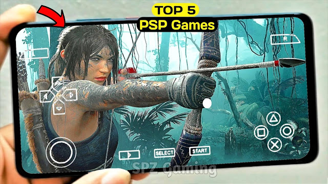 Top 5 PPSSPP Games Offline For Android | Best 5 PSP Games for Android 2021 Best Graphics