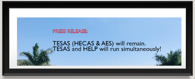 help loan and tesas (hecas and aes) remain PNG